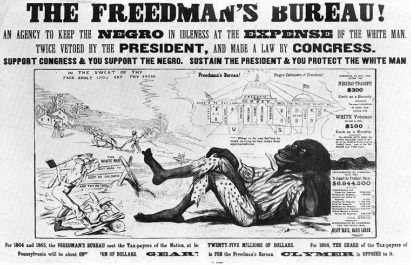 an investigation on the success of the freedmens bureau from 1865 to 1872 Historic freedmen's bureau records now available online 1865 to 1872 the archives had already been scanned onto microfilm, and in 2001, familysearch indexed the bank records years later, volunteers indexed bureau records from virginia the freedmen's bureau.